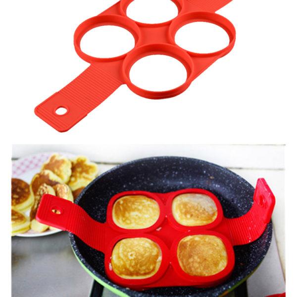 Silikonová forma na lívance a omelety kulatá