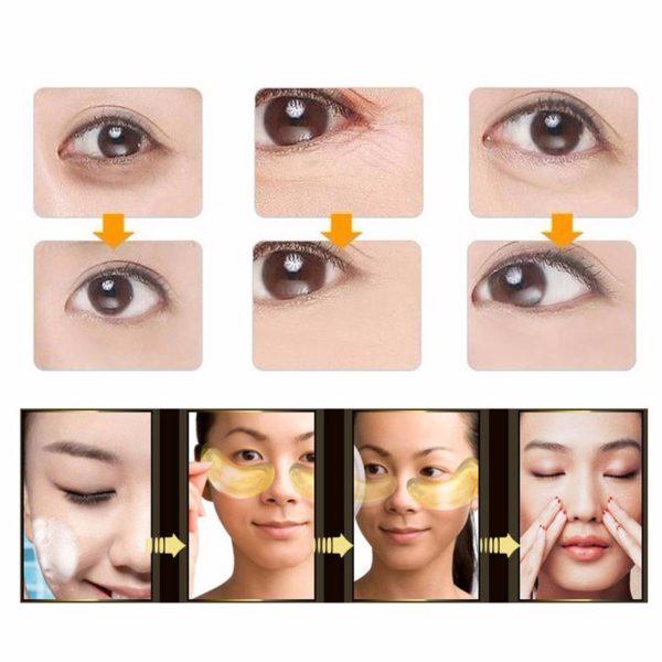 Kolagenová oční maska na vrásky a kruhy 20 kusů