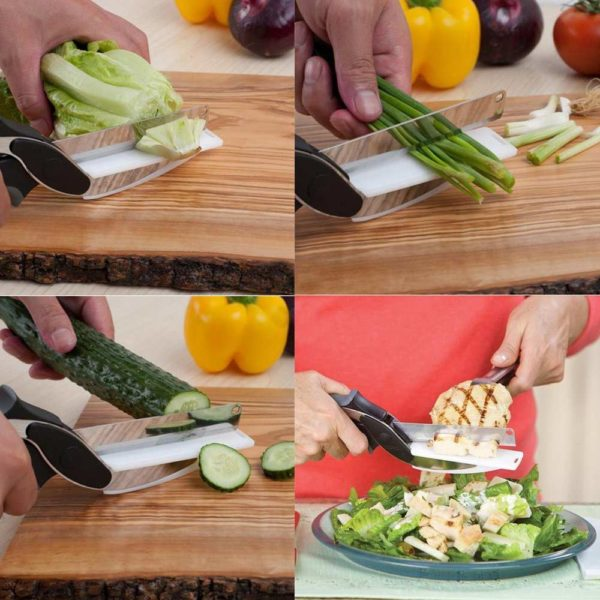 Chytré nůžky do kuchyně Clever Cutter
