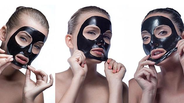 Pleťová maska Pilaten na čistění póru 10ks