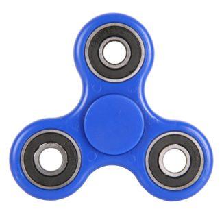 Plastový Fidget Spinner v modré barvě