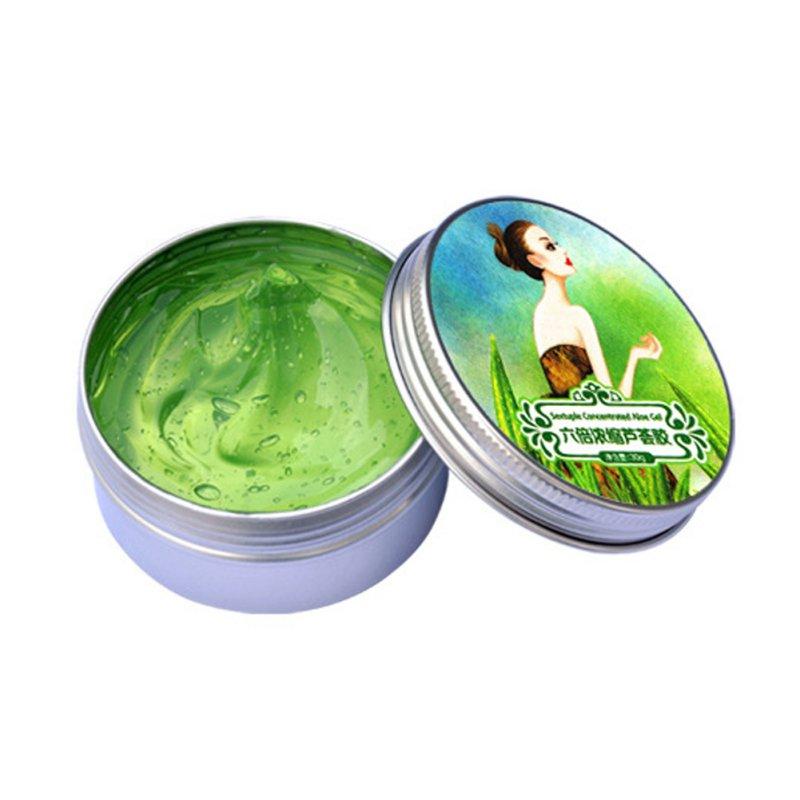 Přírodní hydratační gel Aloe Vera proti vráskám
