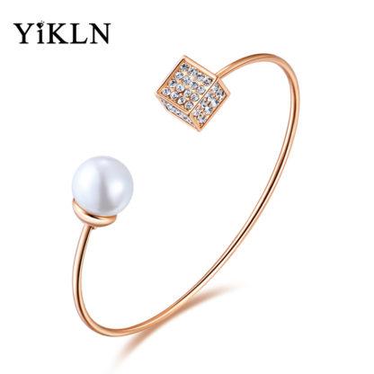Dámský náramek YiKLN Brande PE12 s perlou