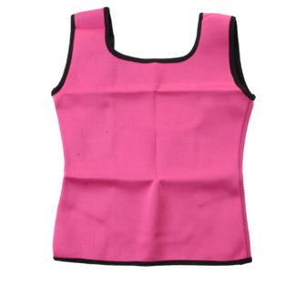 Neoprénová zeštíhlovací vesta Shaper Gym růžová