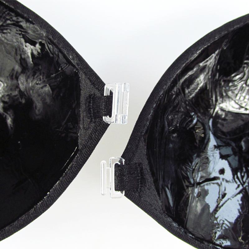 Podprsenka Push up samodržící QIKE na háček černá