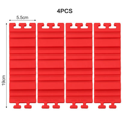 Silikonová tvarovatelná forma na bábovky 4 dílná