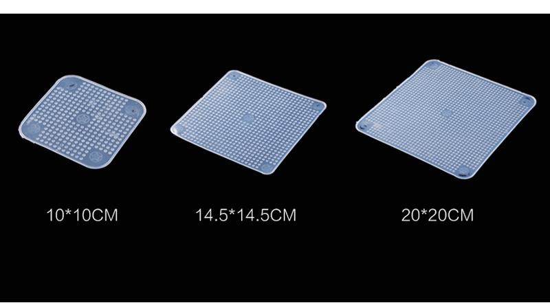 Multifunkční silikonový obal na potraviny 4 kusy