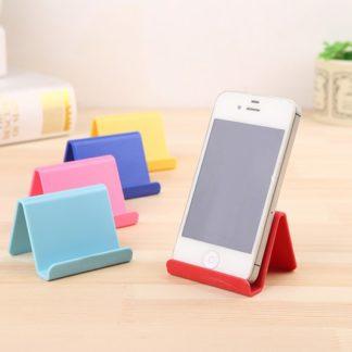 Pevný plastový stojánek na mobilní telefón