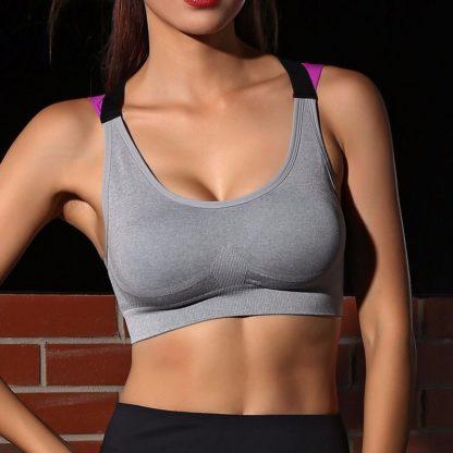 Sportovní fitness podprsenka Push Up