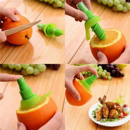 Citrusový sprej na pokrmy